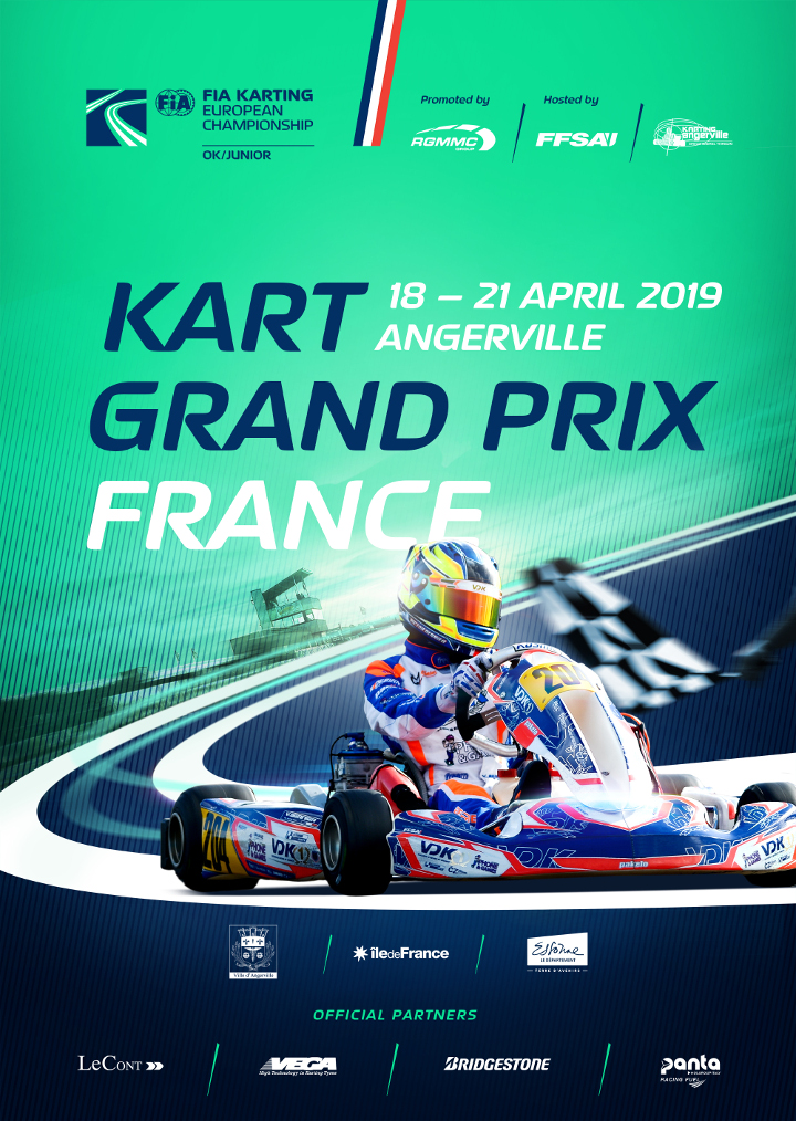 190228 fia KartGrandPrix 2019 Poster France Angerville fb post 720px